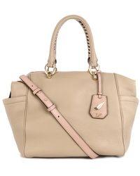 Diane Von Furstenberg Sutra Bold Leather Duffle Bag - Lyst