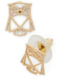Ana Accessories Inc - Hootin and Hollerin Earrings - Lyst