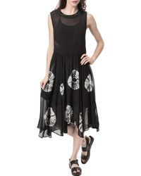 Lacausa Printed Dress - Lyst