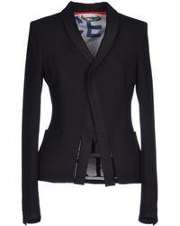 Balenciaga Black Blazer - Lyst