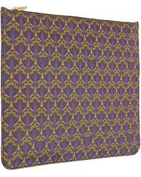 Liberty - Purple Oversized Pouch - Lyst