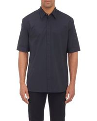 3.1 Phillip Lim Short-sleeve Poplin Shirt - Lyst