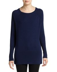 Vince Cashmere Dolman Sleeved Boat Neck Sweater - Lyst