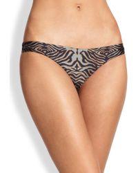 Zimmermann Tiger Print Bikini Bottom - Lyst