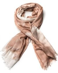 Stella McCartney Hampstead Scarf Nudewhite - Lyst