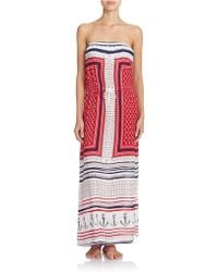 Sperry Top-Sider - Anchor Cover-Up Maxi Dress - Lyst