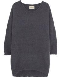 American Vintage Hazelhurst Knitted Sweater - Lyst