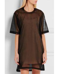 CALVIN KLEIN 205W39NYC - Wilson Mesh Mini Dress - Lyst