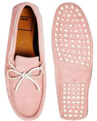 ASOS - Driving Shoes in Suede - Lyst