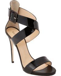Barneys New York Crisscross Ankle-Strap Sandal - Lyst