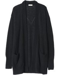 Rebecca Taylor Oversized Mohair Cardigan - Lyst