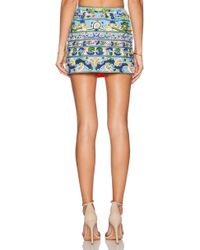 Pia Pauro - Embroidered Skirt - Lyst