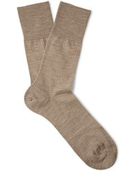 Falke Airport Wool and Cottonblend Socks - Lyst