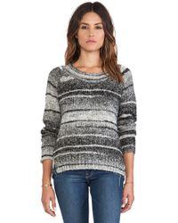 Love Sam Daisy Double Slit Sweater - Lyst