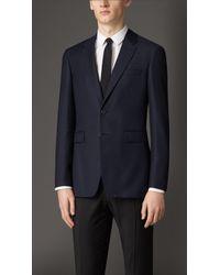 Burberry Modern Fit Travel Tailoring Virgin Wool Jacket - Lyst