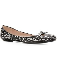 Marc Jacobs Graphic Printed Ballet Flats - Lyst