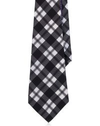 Ralph Lauren Volute Plaid Wide Silk Tie - Lyst