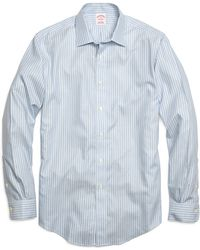 Brooks Brothers Non-Iron Madison Fit Twin Stripe Sport Shirt - Lyst