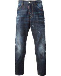 DSquared2 Blue Hockney Jeans - Lyst