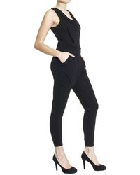 Ki6? Who Are You? | Draped Jersey Sleeveless Jumpsuit Dress | Lyst