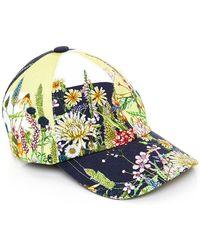 Swash London - Flora Meadow Baseball Cap - Lyst