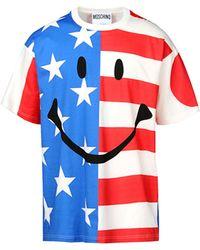 Moschino Short Sleeve T-Shirts - Lyst