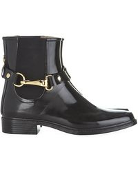 Burberry Ackmar Chelsea Rain Boots - Lyst