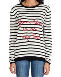 Banjo & Matilda - Your Kiss Sweater in Black - Lyst