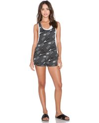 Insight - Graph Playsuit - Lyst