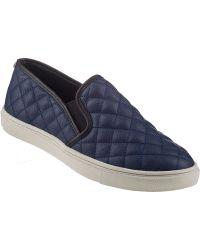 Steve Madden Ecentrcq Slip-On Sneaker Navy - Lyst