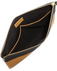 Hare + Hart | Papa Leather Pouch Bag | Lyst