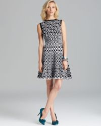Alice + Olivia Alice Olivia Dress Jasiey Fit and Flare - Lyst
