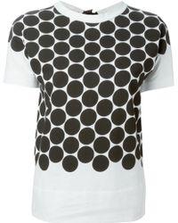 Marni Bow Detail T-Shirt - Lyst