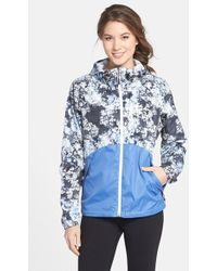 The North Face 'Flyweight' Hooded Jacket blue - Lyst