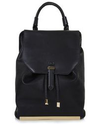 Topshop Pu Backpack - Lyst
