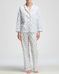 Marigot Collection - Lorient Block Long Pajama Set - Lyst