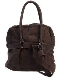 Napapijri Large Leather Bag - Lyst