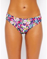 Freya Summer Hipster Brief Bikini Bottom multicolor - Lyst