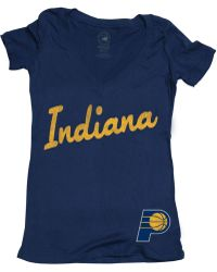 Sportiqe - Women's Short-sleeve Indiana Pacers Slim-fit T-shirt - Lyst