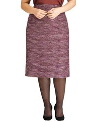 Lafayette 148 New York Priscilla Tweed Pencil Skirt - Lyst