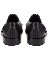 JOSEPH - Leather And Suede Derby Shoe - Lyst