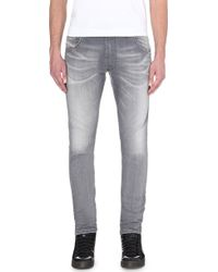 Diesel Krooley-Ne Slim-Skinny Mid-Rise Sweat Jeans - For Men - Lyst