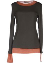 Alysi Long Sleeve Tshirt - Lyst