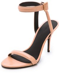 Alexander Wang Antonia Ankle Strap Sandals - Sandstorm - Lyst