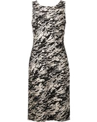 Rag & Bone Black Print Dress - Lyst