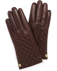 Mulberry | Quilted Glove | Lyst