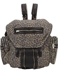 Alexander Wang Leopardprint Marti Backpack - Lyst