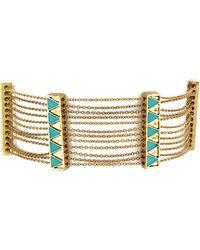 House of Harlow 1960 - Peak To Peak Chain Bracelet - Lyst