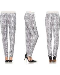 Joe's Jeans Silk Pant - Lyst