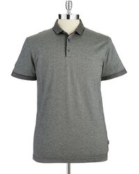 Hugo Boss Textured Polo Shirt - Lyst